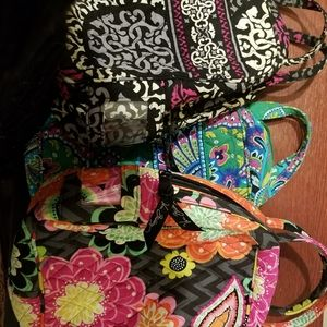 Vera Bradley lunch bags $9 each  (quilted plati